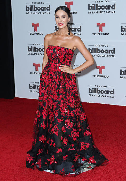 Catherine Siachoque - Billboard Latin Music Awards - Arrivals