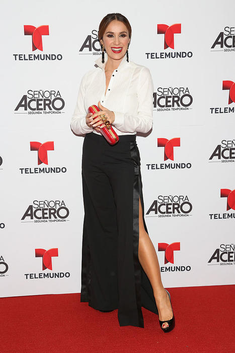 "Catherine Siachoque  - ""Senora Acero"" Second Season Premiere - Red Carpet"