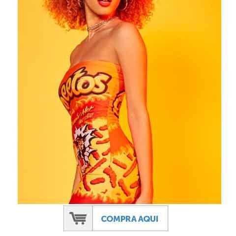 Vestido de Cheetos