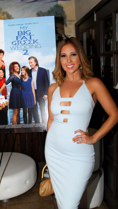 "Chiquibaby celebró el estreno de ""My Big Fat Greek Wedding 2"""