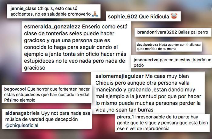 Critican a Chiquis Rivera por reto de La Chona