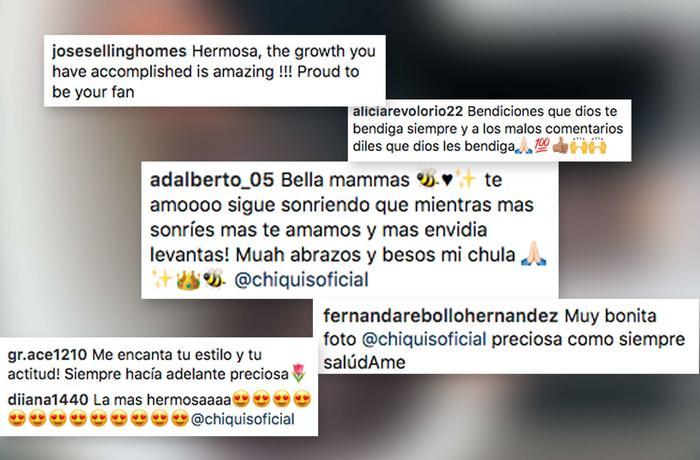 Comentarios sobre foto de Chiquis Rivera