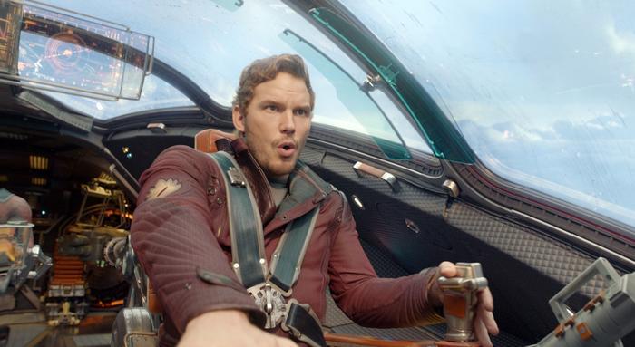 "Chris Pratt en ""Guardians of the Galaxy"""