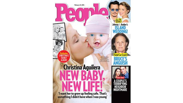 La portada de People Magazine de Christina Aguilera con su hija Summer Rose