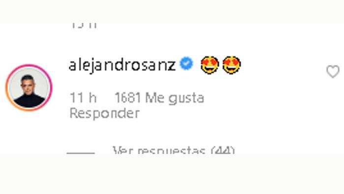 Comentario de Alejandro Sanz