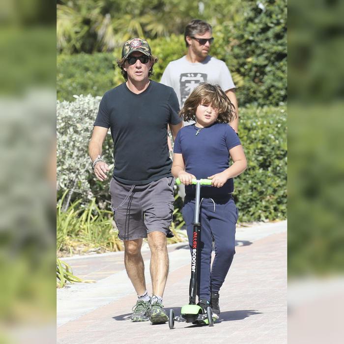 """Nicolas """"Colate"""" y su hijo Andrea"""