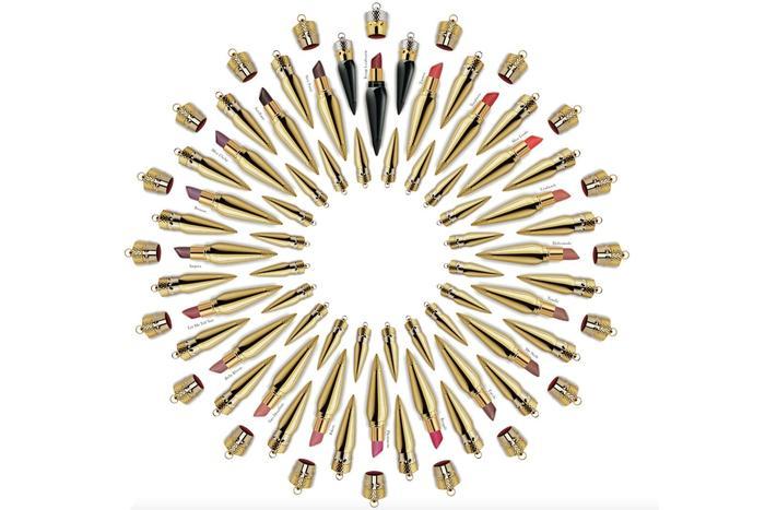 Colección completa de labiales Louboutin