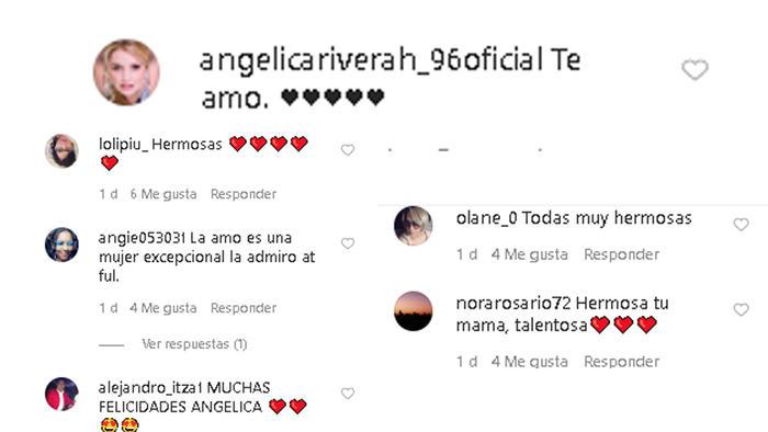 Mensaje de Angélica Rivera