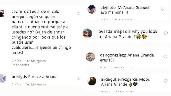Comentario fans de Danna Paola