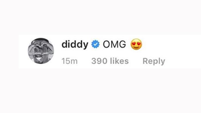 Comentarios Instagram Diddy