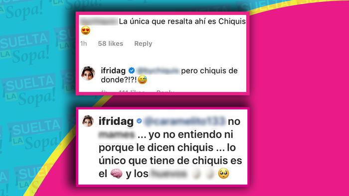 Comentarios Frida vs Chiquis