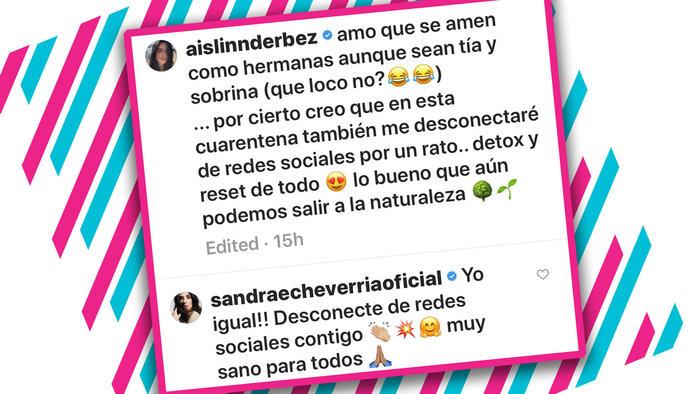 Sandra Echeverría explota por supuesta infidelidad con Mauricio Ochmann