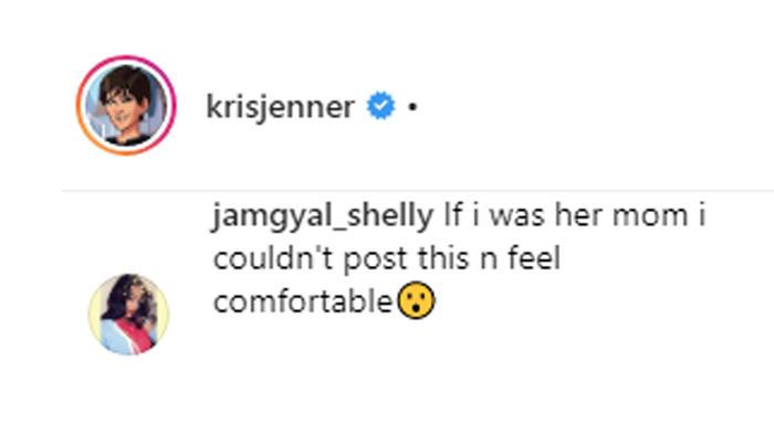 Comentario sobre Kris Jenner