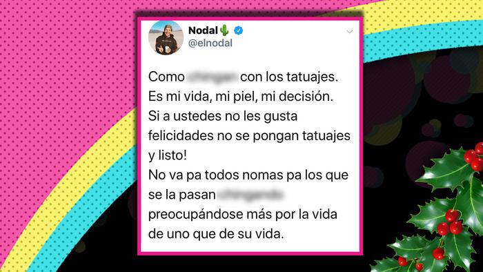 Christian Nodal responde a sus detractores