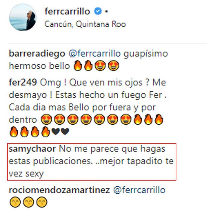 Comentario a Fernando Carrillo