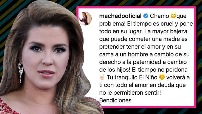 Comentario Alicia Machado Julián Gil