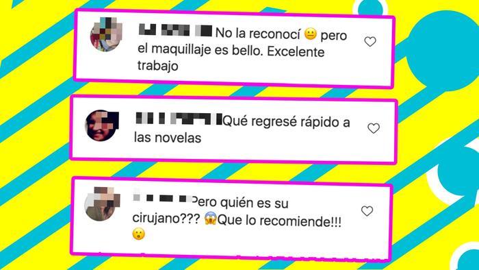 comentarios Angélica Rivera rostro