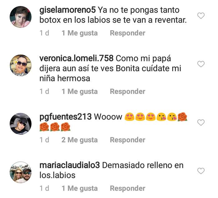 Critican labios de Chiquis Rivera