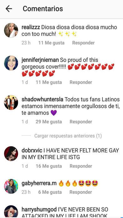 Comentarios Instagram Emeraude Toubia