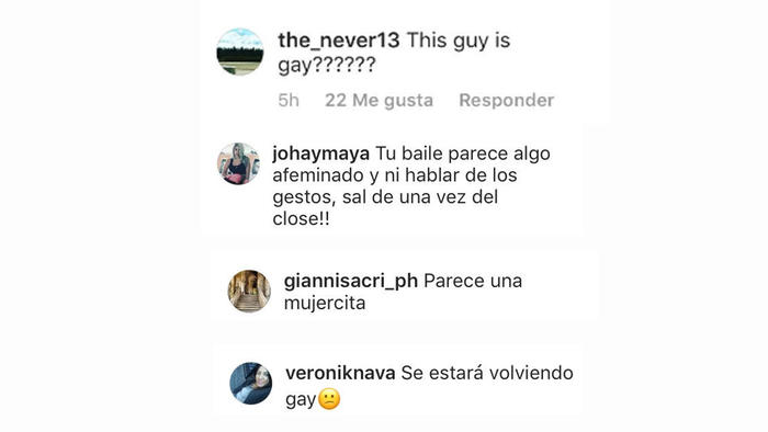 Comentarios Instagram de Gianluca Vacchi