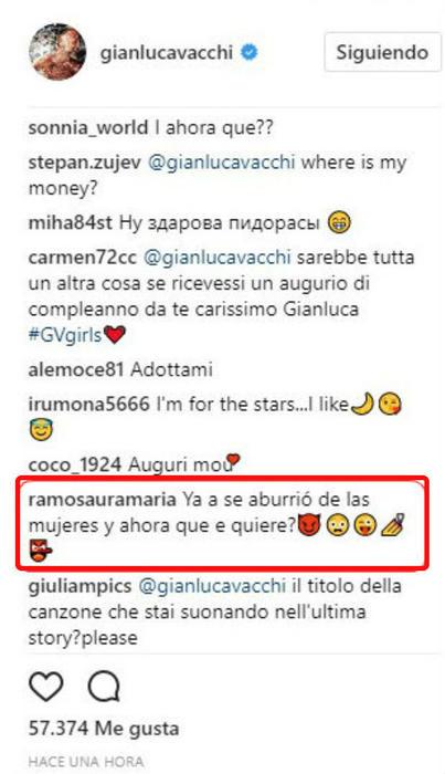 Comentarios sobre Gianlica Vacchi