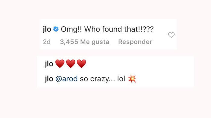 Comentarios Instagram de Jennifer Lopez