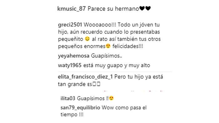 Comentarios Instagram de Ludwika Paleta
