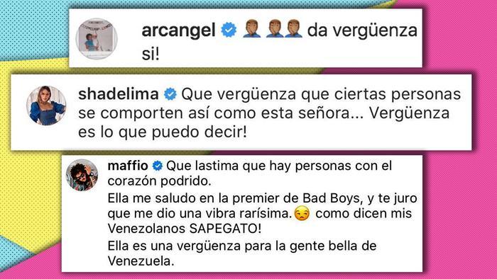 Artistas apoyan a Enrique Santos de comentarios de Alicia Machado