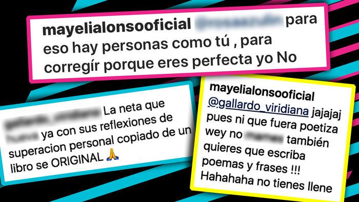 Mayeli Alonso criticas frases 2
