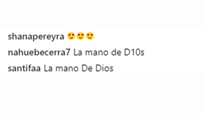 Comentarios instagram de Leo Messi