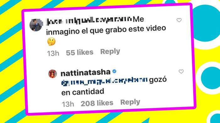 Natti Natasha comentarios 2
