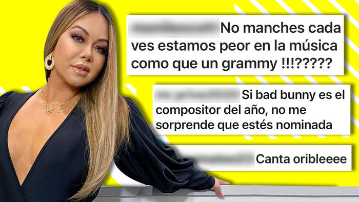Chiquis Rivera comentarios Grammy