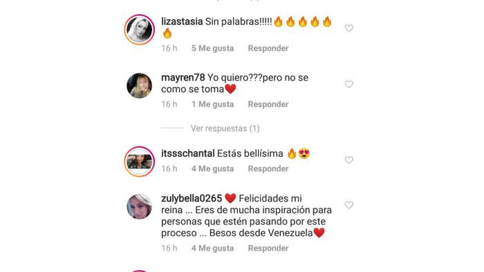 comentarios Gaby Espino
