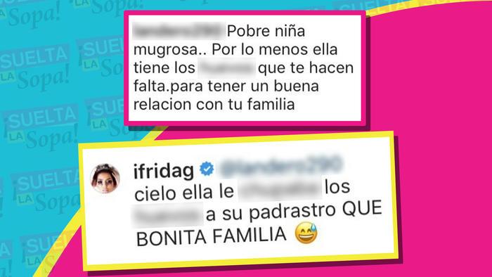 Comentarios Frida vs Chiquis Loaiza