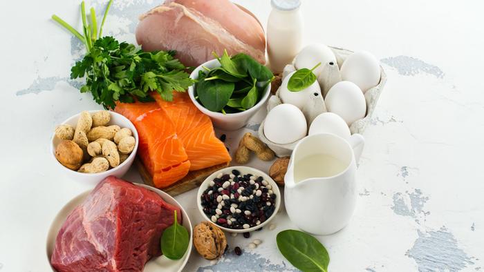 Alimentos altos en proteínas