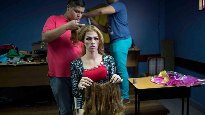 Concursante de Miss Gay Venezuela 2015omcast