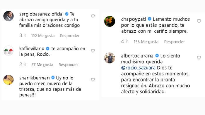 Comentarios para Rocío Sánchez Azuara
