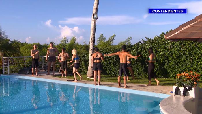 Contendientes entrenan en la Fortaleza