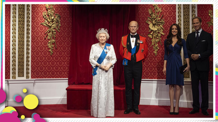 Príncipe Harry y Meghan Markle Museo figuras de cera