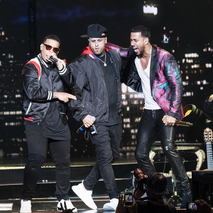 Daddy Yankee, Nicky Jam y Romeo Santos