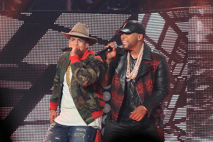 Daddy Yankee y Don Omar concierto en Puerto Rico 2015
