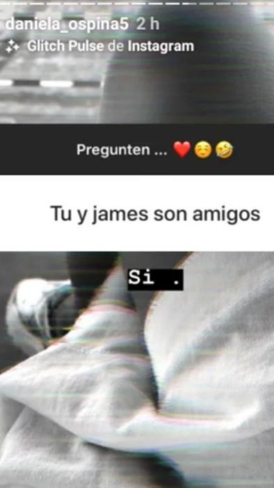 Daniela Ospina en Instagram
