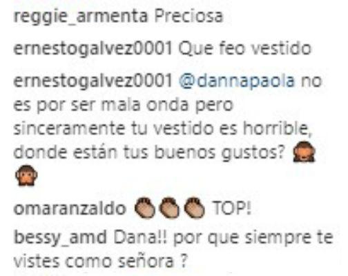 Críticas a Danna Paola
