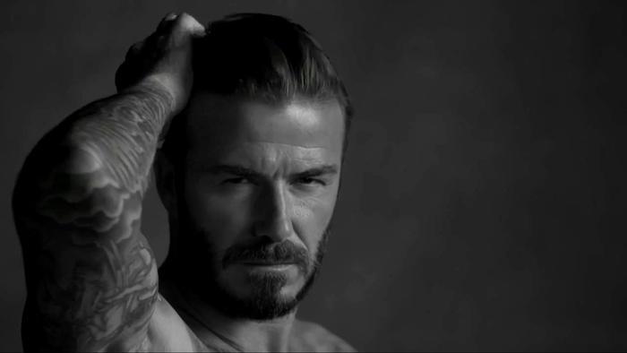 David Beckham en el comercial de D&J Briefs