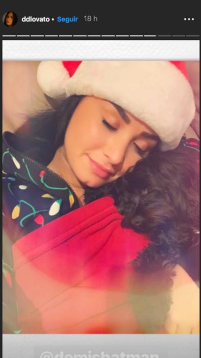 Demi Lovato en Navidad