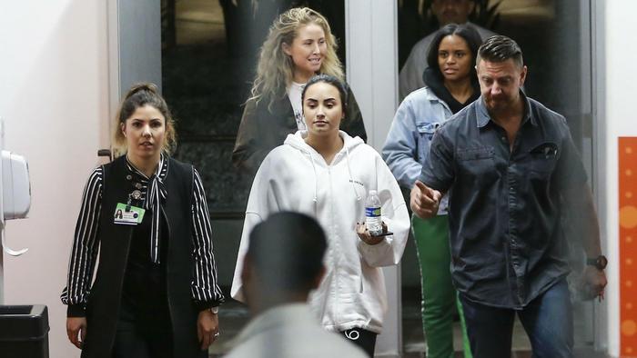 Demi Lovato con amigos