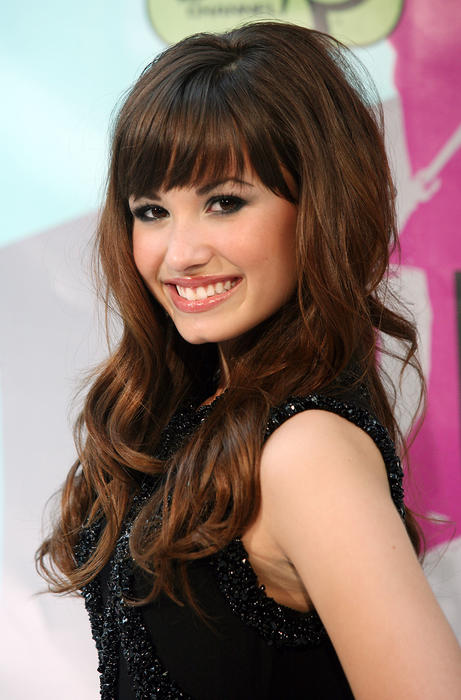 "Demi Lovate at Disney Premiere Of ""Camp Rock"""