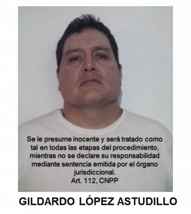 Se detuvo a Gildardo López Astudillo, de 36 años de edad, presunto integrante de un grupo delincuencial, relacionado con los hechos lamentables ocurridos el 26 y 27 de septiembre de 2014, en el municipio de Iguala, Guerrero