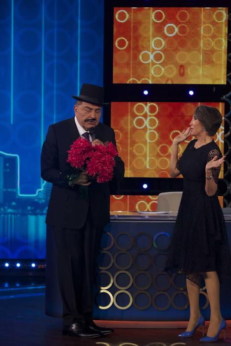 Florinda Meza y Don Francisco