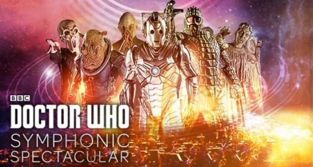 Poster de Doctor Who Symphonic Spectacular en 2014